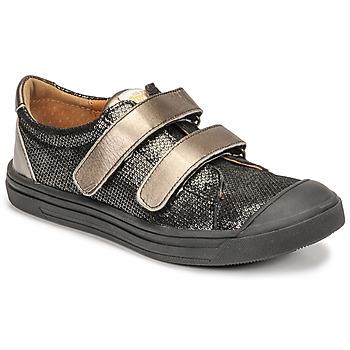 Cipők Lány Rövid szárú edzőcipők GBB NOELLA Fekete