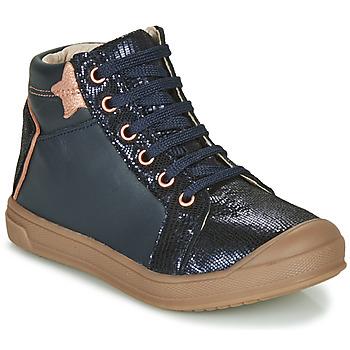 Cipők Lány Magas szárú edzőcipők GBB ORENGETTE Kék