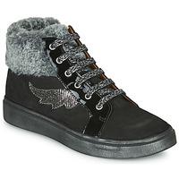 Cipők Lány Magas szárú edzőcipők GBB NUMA Fekete