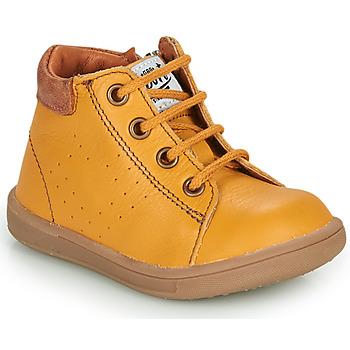 Cipők Fiú Csizmák GBB FOLLIO Citromsárga