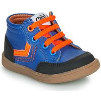 Cipők Fiú Magas szárú edzőcipők GBB VIGO Kék
