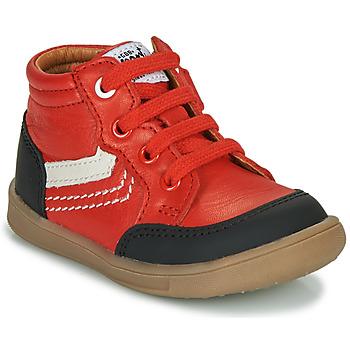 Cipők Fiú Magas szárú edzőcipők GBB VIGO Piros