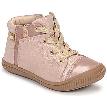 Cipők Lány Magas szárú edzőcipők GBB OUNA Rózsaszín