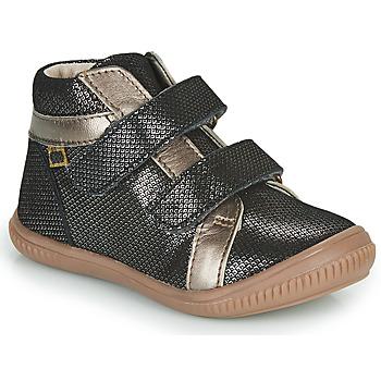 Cipők Lány Magas szárú edzőcipők GBB EDEA Fekete