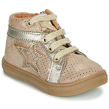 Cipők Lány Magas szárú edzőcipők GBB NAVETTE Bézs