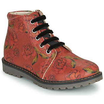 Cipők Lány Csizmák GBB NAREA Piros