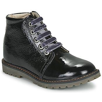 Cipők Lány Csizmák GBB NAREA Fekete