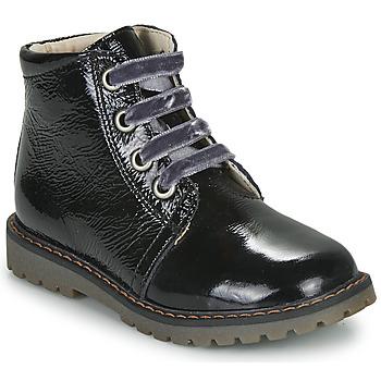 Cipők Lány Magas szárú edzőcipők GBB NAREA Fekete