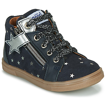 Cipők Lány Magas szárú edzőcipők GBB VALA Kék