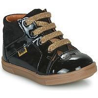 Cipők Lány Magas szárú edzőcipők GBB THEANA Fekete