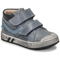 Cipők Fiú Magas szárú edzőcipők GBB OMALLO Kék