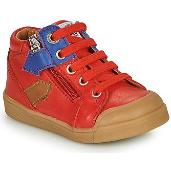 Cipők Fiú Magas szárú edzőcipők GBB IONNIS Piros