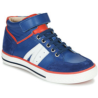Cipők Fiú Magas szárú edzőcipők GBB ALIMO Kék