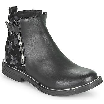 Cipők Lány Csizmák GBB XIANA Fekete