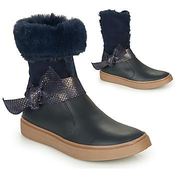 Cipők Lány Városi csizmák GBB EVELINA Tengerész