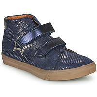 Cipők Lány Magas szárú edzőcipők GBB MAYMA Kék