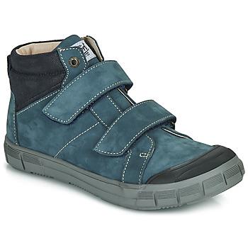 Cipők Fiú Magas szárú edzőcipők GBB HENI Kék