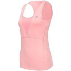 Ruhák Női Trikók / Ujjatlan pólók 4F TSDF001 Rózsaszín