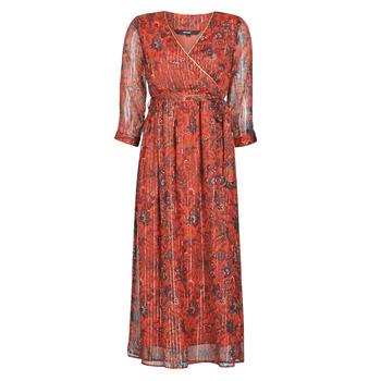 Ruhák Női Hosszú ruhák Vero Moda VMGLAMMY Piros