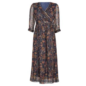 Ruhák Női Hosszú ruhák Vero Moda VMGLAMMY Tengerész