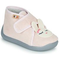 Cipők Lány Mamuszok GBB HELORIE Rózsaszín