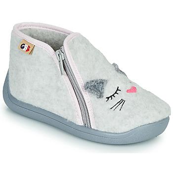 Cipők Lány Mamuszok GBB CORI Szürke