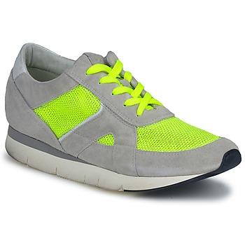 Cipők Női Rövid szárú edzőcipők OXS GEORDIE Szürke / Citromsárga