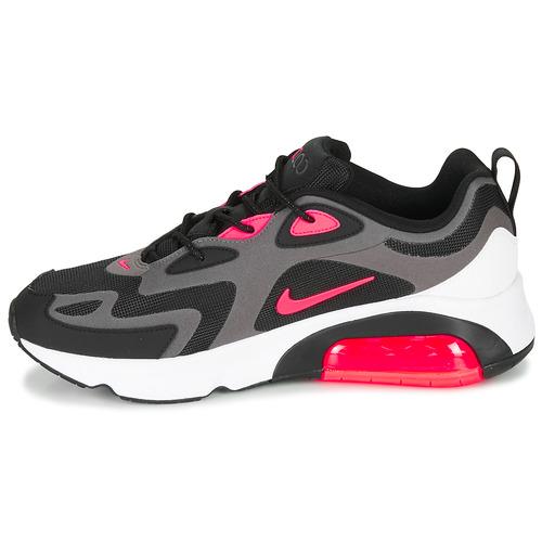 Nike AIR MAX 200 Fekete  / Rózsaszín - Ingyenes Kiszállítás! - Cipők Rövid szárú edzőcipők Ferfi 35 455