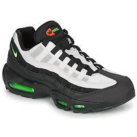 Cipők Férfi Rövid szárú edzőcipők Nike AIR MAX 95 Fekete  / Fehér / Zöld