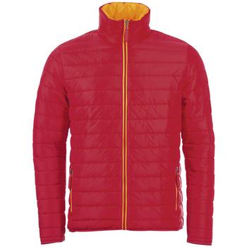 Ruhák Férfi Steppelt kabátok Sols RIDE WINTER MEN Rojo