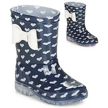 Cipők Lány Gumicsizmák Be Only AMOUR FLASH Tengerész