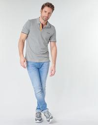 Ruhák Férfi Slim farmerek Jack & Jones JJILIAM Kék / Tiszta