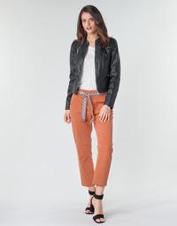 Ruhák Női Chino nadrágok / Carrot nadrágok Vero Moda VMSVEA Téglavörös