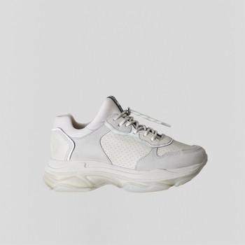 Cipők Női Rövid szárú edzőcipők Bronx Chaussures femme  Baisley Suede blanc cassé