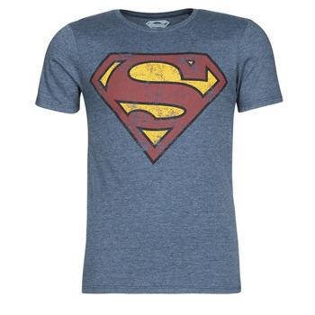 Ruhák Férfi Rövid ujjú pólók Casual Attitude SUPERMAN LOGO VINTAGE Tengerész