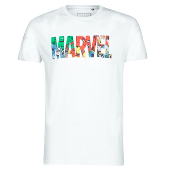 Ruhák Férfi Rövid ujjú pólók Casual Attitude MARVEL HERO LOGO Fehér