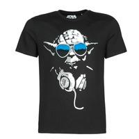 Ruhák Férfi Rövid ujjú pólók Casual Attitude DJ YODA COOL Fekete