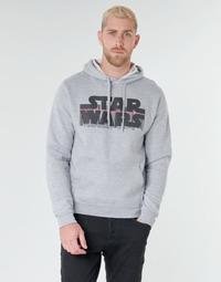 Ruhák Férfi Pulóverek Casual Attitude Star Wars Bar Code Szürke
