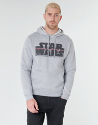 Ruhák Férfi Pulóverek Yurban Star Wars Bar Code Szürke