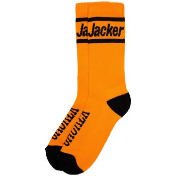 Textil kiegészítők Férfi Zoknik Jacker After logo socks Narancssárga