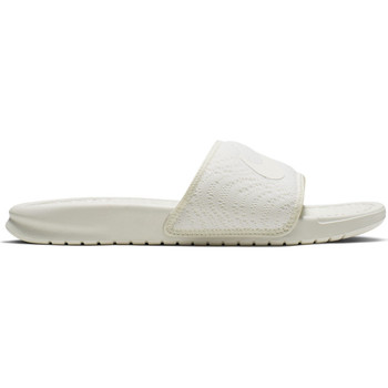 Cipők Női strandpapucsok Nike benassi jdi textile se Fehér