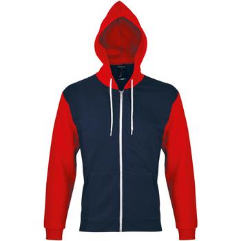 Ruhák Melegítő kabátok Sols SILVER KANGAROO SPORT Rojo