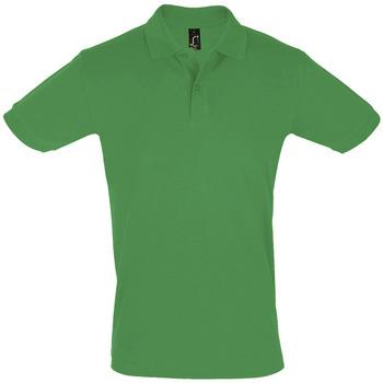 Ruhák Férfi Rövid ujjú galléros pólók Sols PERFECT COLORS MEN Verde