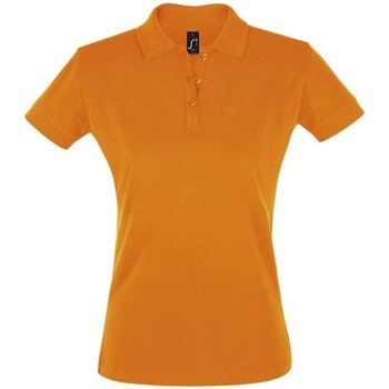 Ruhák Női Rövid ujjú galléros pólók Sols PERFECT COLORS WOMEN Naranja