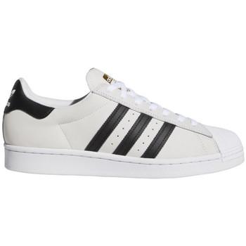 Cipők Férfi Deszkás cipők adidas Originals Superstar adv Fehér