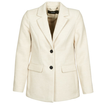 Ruhák Női Kabátok Vero Moda VMCALA Fehér