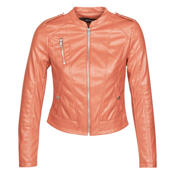 Ruhák Női Bőrkabátok / műbőr kabátok Vero Moda VMAWARDALMA Téglavörös