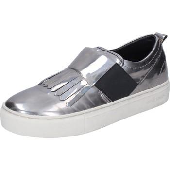 Cipők Női Belebújós cipők Crime London BN383 Ezüst