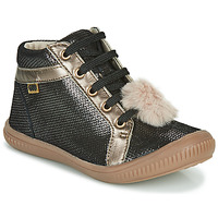 Cipők Lány Magas szárú edzőcipők GBB ISAURE Fekete