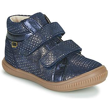 Cipők Lány Magas szárú edzőcipők GBB EDEA Kék
